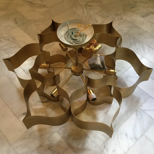 Asian Currey Company Grand Lotus Chandelier For Image 3