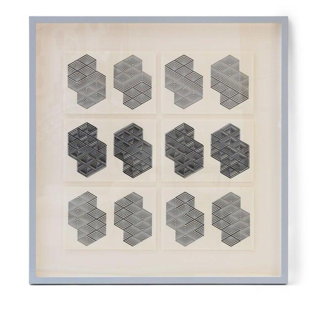 Mid-Century Modern Original Letterpress Prints For Sale - Image 3 of 12