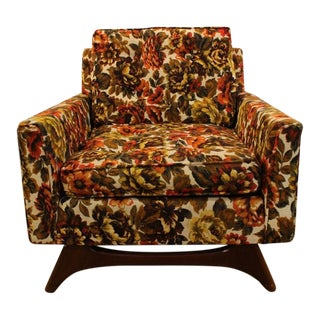 Mid-Century Upholstered Chair For Sale