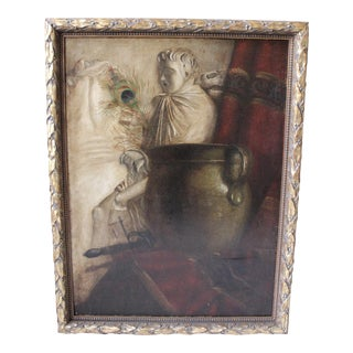 Vintage Classical Still Life Painting