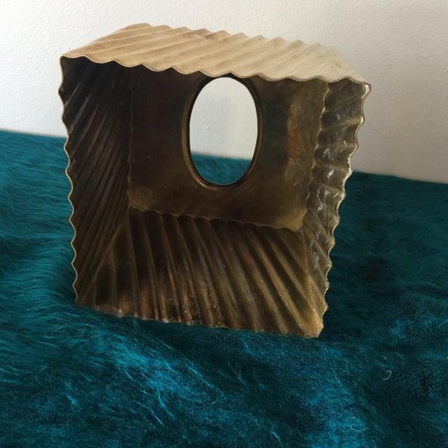 Brass Minimalist Tissue Box Holder - Image 6 of 7