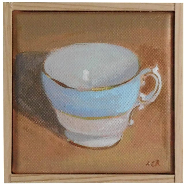 Teacup Painting - Image 1 of 5