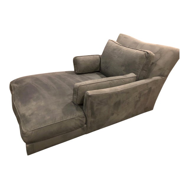 Modern Donghia Victoire Custom Made Chaise For Sale