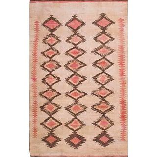 1930s Vintage Navajo Rug-4′2″ × 6′ For Sale
