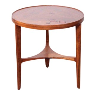 Dunbar Janus Table by Edward Wormley With Natzler Tiles For Sale