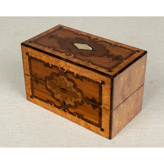 19th Century Antique French Marquetry Perfume Box Preview