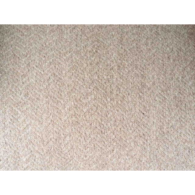 Cotton Contemporary Verellen Tan Wool Upholstered Alois Recliner For Sale - Image 7 of 7