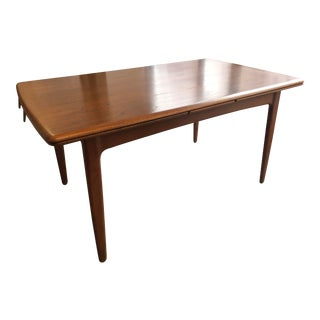1960s Scandinavian Svend Madsen Refractory Dining Table For Sale