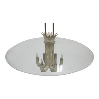 Italian Mid-Century Modern Pendant / Chandelier by Pietro Chiesa / Fontana Arte