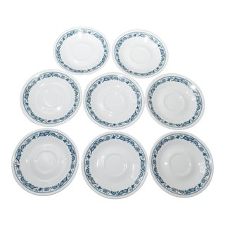 Corelle Olde Towne Saucers - Set of 8