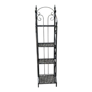 Early 20th Century Iron Folding Shelf For Sale