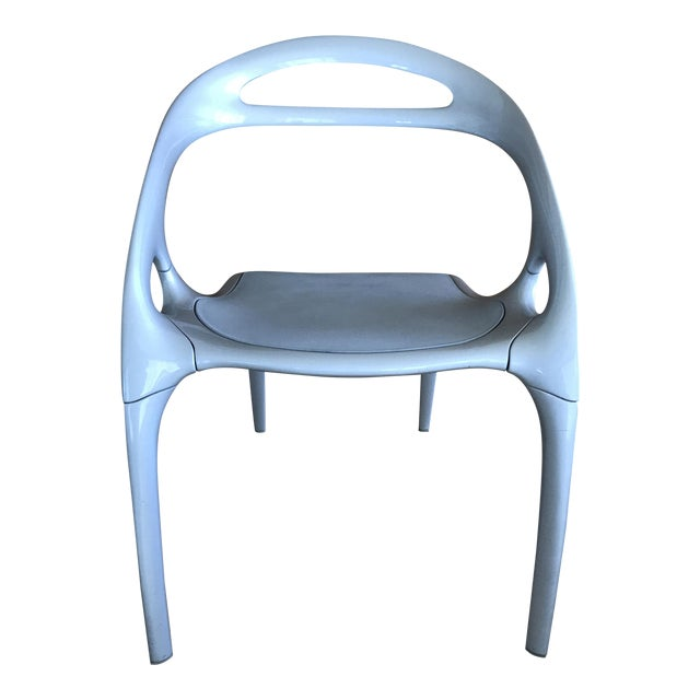 For sale is a Bernhardt Design Go Chair designed by world famous industrial designer Ross Lovegrove. This chair has a...