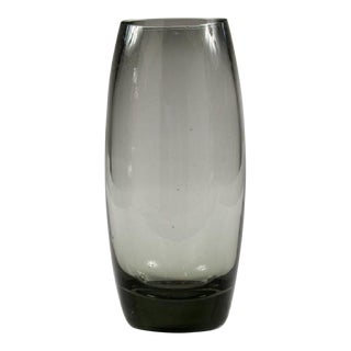 Holmegaard Swedish Mid-Century Glass Vase