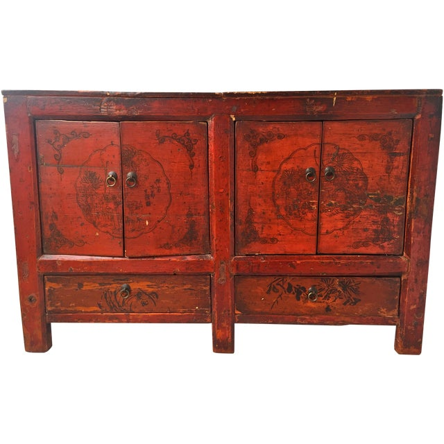 Asian Gansu Sideboard Cabinet - Image 1 of 11