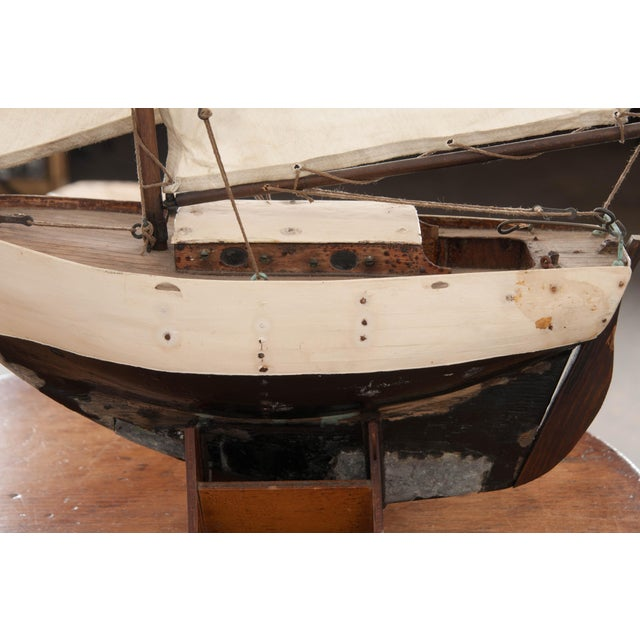Early 20th Century English Pond Yacht - Image 10 of 12