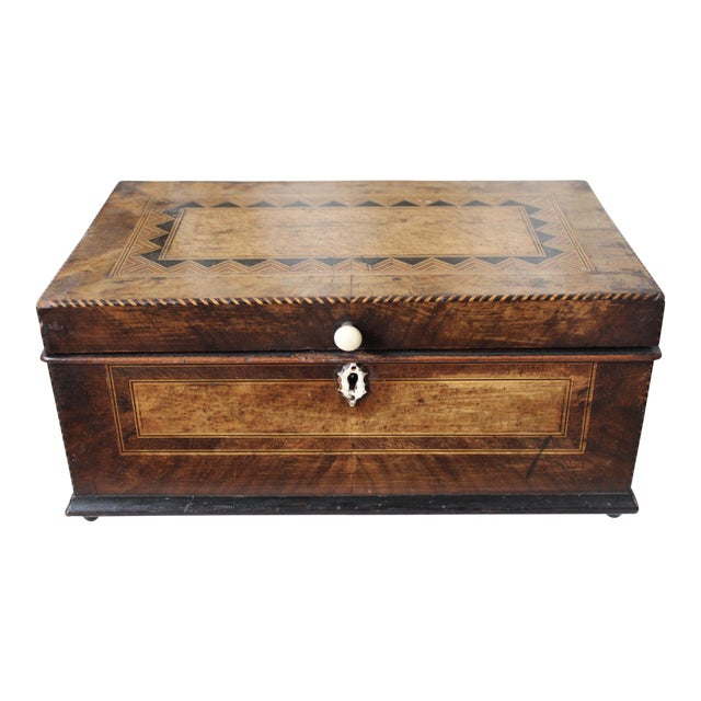 Tunbridge Ware Sewing Box - Image 1 of 9