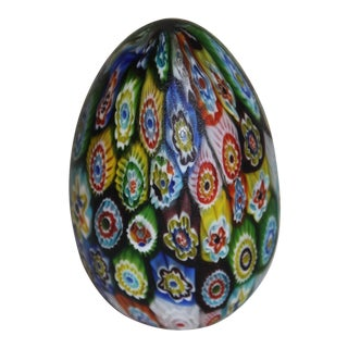 Late 20th Century Art Glass Paper Weight For Sale