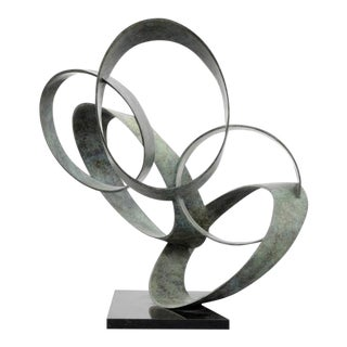 """Large Larry Mohr Abstract """"Orbits XIIIA"""" Sculpture For Sale"""
