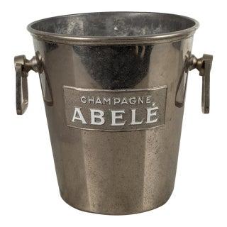 Art Deco Champange Advertising Ice Bucket C.1930 For Sale
