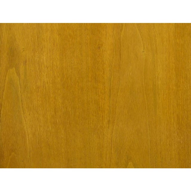 Renzo Rutili Bleached Mahogany and White Micarta Long Cabinet - Image 7 of 8
