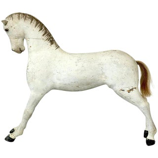 Early 20th Century French Horse Statue For Sale