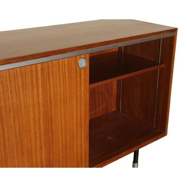 Herman Miller 1960s Mid-Century Modern George Nelson for Herman Miller Teak Sideboard/Cabinet For Sale - Image 4 of 5