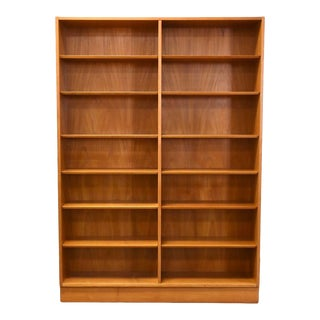 Danish Teak MCM Bookcase For Sale