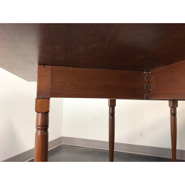 Ea Clore Sons Gate Leg Drop Leaf Table No. 513-T For Sale - Image 12 of 13