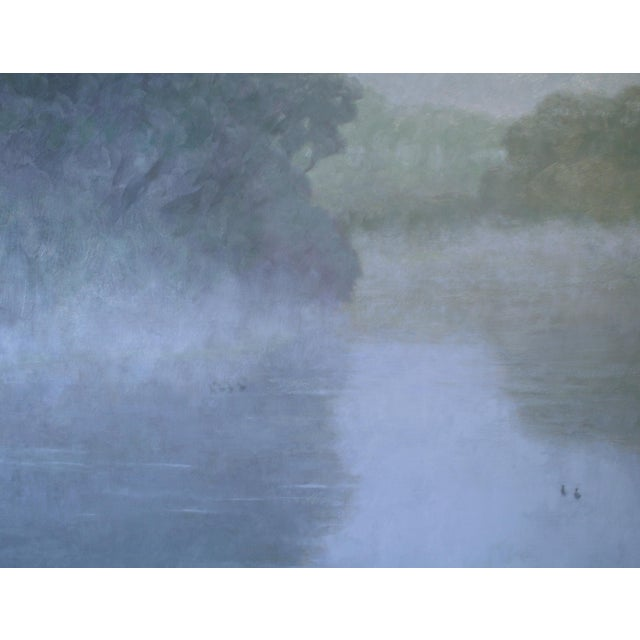 Robert Longley Rob Longley, Mergansers Painting, 2016 For Sale - Image 4 of 7