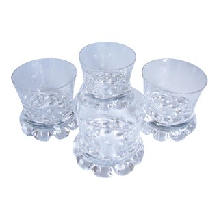 Vintage Kosta Boda Buster Double Old Fashioned Glasses - Set of 4 For Sale