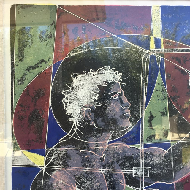 Mid-Century Signed Hans Erni Lithograph - Image 5 of 11