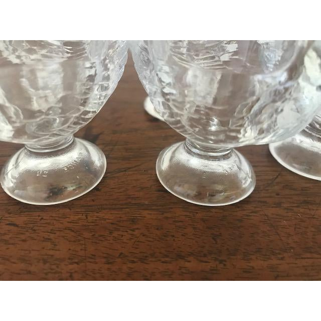 Late 20th Century Vintage French Egg Cups - Set of 6 For Sale - Image 4 of 7