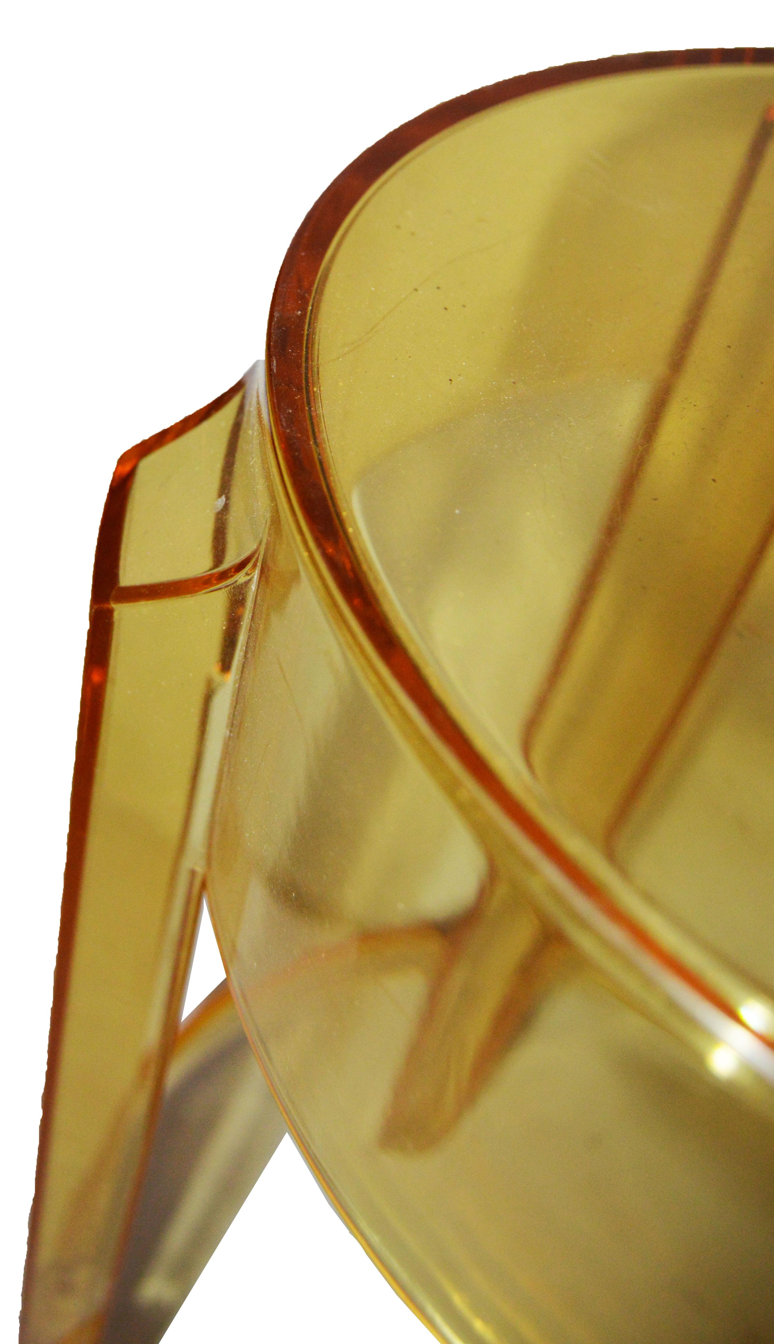 Vintage P Starck Model Quot Ghost Quot Stools Set Of 4 Chairish
