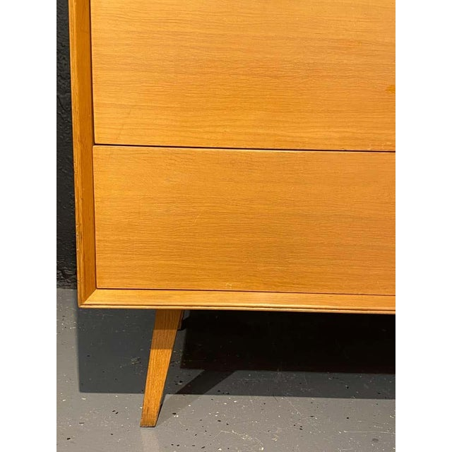 Metal Pair of Mid-Century Modern Bachelor Chest, Commodes or Dressers For Sale - Image 7 of 13
