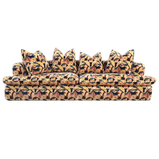 Angelo Donghia Memphis Upholstered Sofa - Image 1 of 8