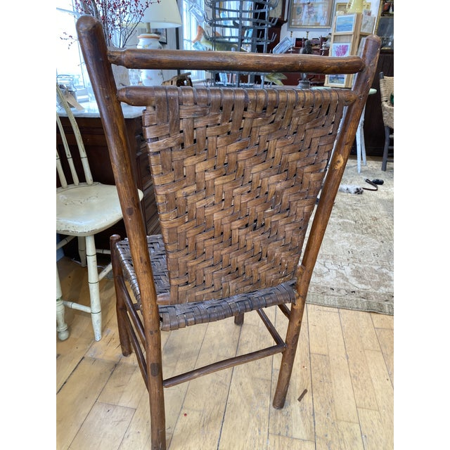 Old Hickory Dining Chairs - a Pair For Sale In Portland, ME - Image 6 of 9