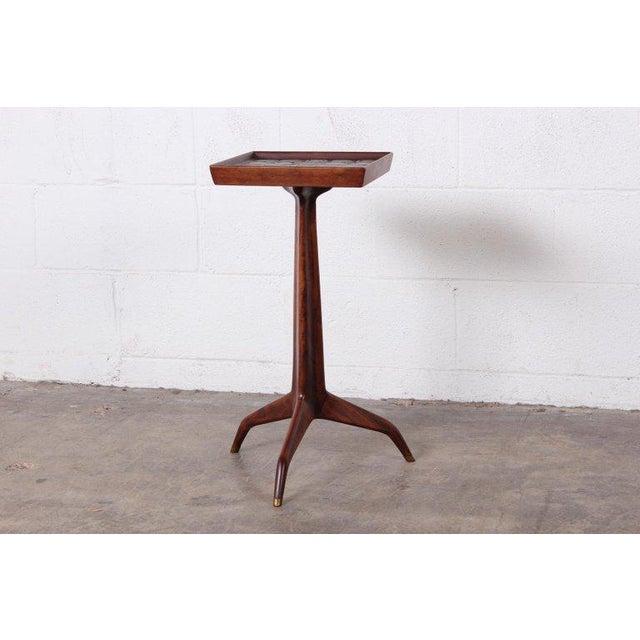 Edward Wormley Dunbar Janus Side Table With Natzler Tiles For Sale - Image 13 of 13