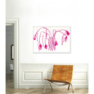 """Large """"Pink Daffodil"""" Print by Kate Roebuck, 45"""" X 32"""" Preview"""