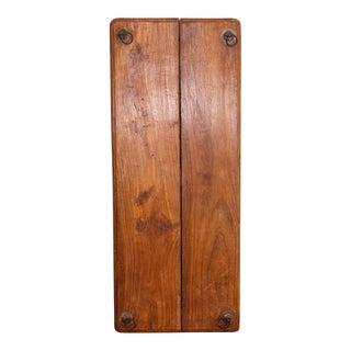 Vintage Teak Swing Plank
