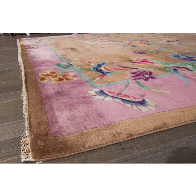 "Apadana Beige Chinese Art Deco Rug - 8'9"" X 11'6"" - Image 2 of 6"