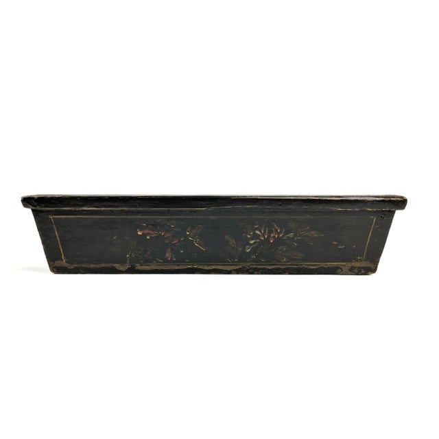 1900s Chinese Wood Painted Planter Box For Sale - Image 4 of 10