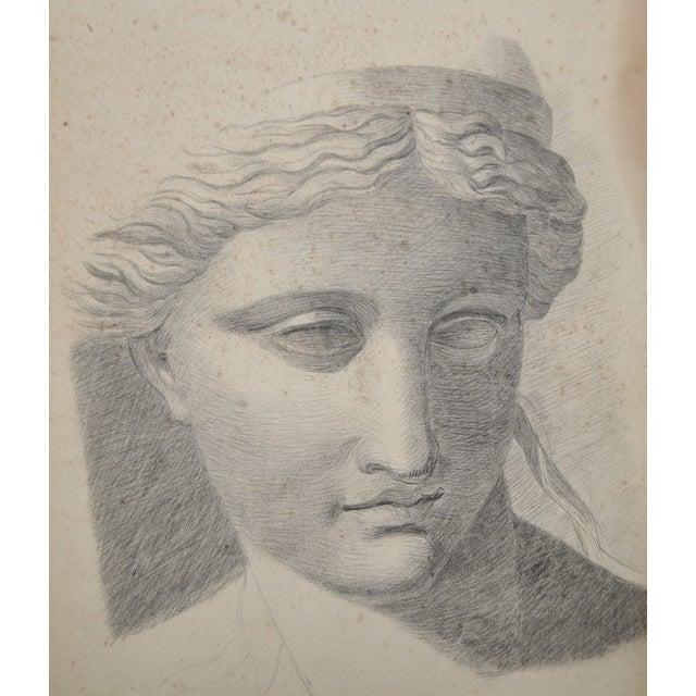 Exceptional 19th Century Romanesque Portrait - Image 2 of 4