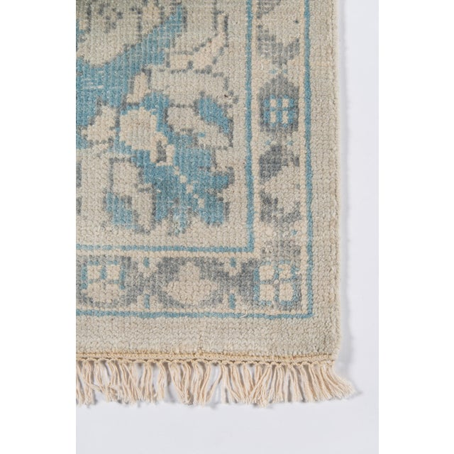 """Traditional Erin Gates Concord Lowell Ivory Hand Knotted Wool Area Rug 7'9"""" X 9'9"""" For Sale - Image 3 of 7"""