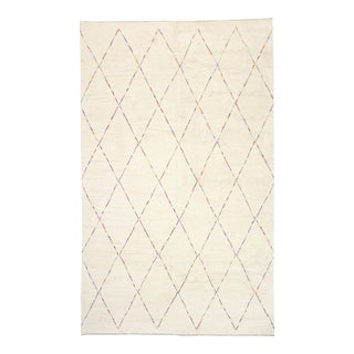 Contemporary Room Size Moroccan Style Rug, 12'04 X 20'02 For Sale
