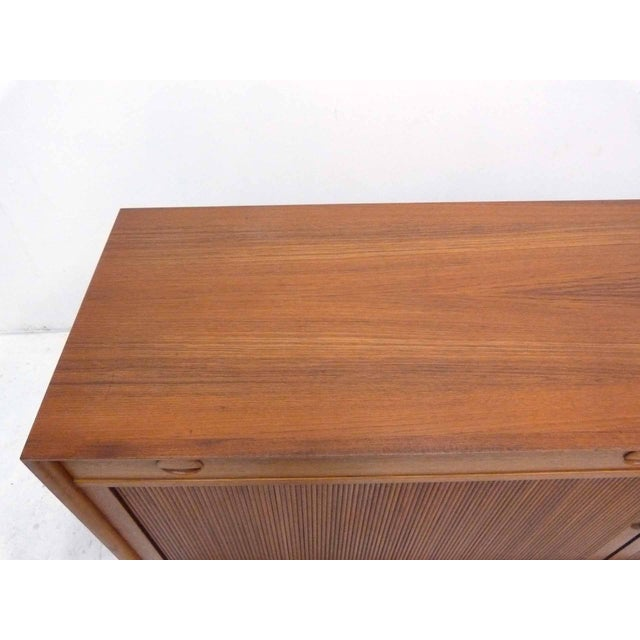 Grete Jalk for Sibast Tambour Teak Credenza For Sale In Denver - Image 6 of 10