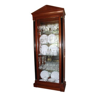 Ethan Ellen China Cabinet For Sale