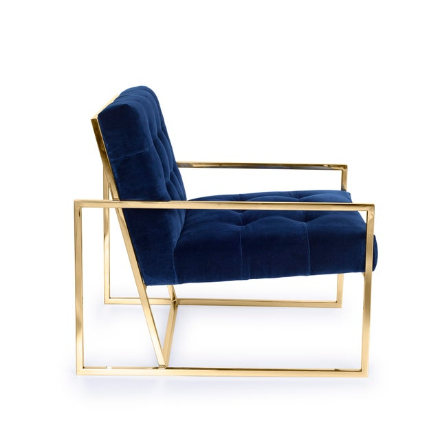 Pasargad's Firenze Collection Lounge Chair - Image 5 of 8