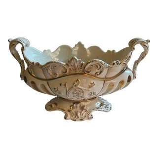 Italian Centerpiece Bowl For Sale