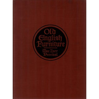 """1920 """"Old English Furniture"""" Coffee Table Book For Sale"""