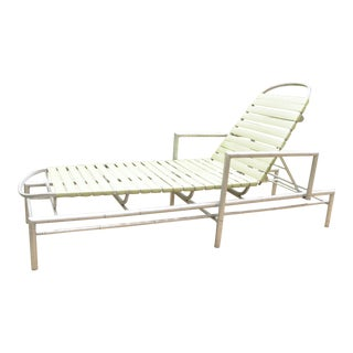 1960s Outdoor Chaise Lounge For Sale